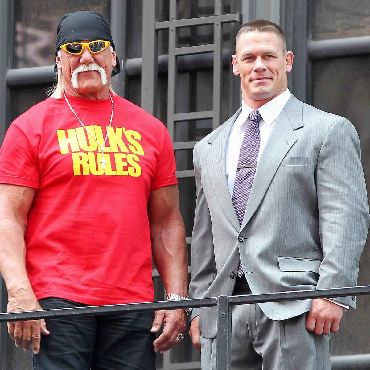 Hulk Hogan Was Underutilized As Wrestlemania 30 Host Bleacher