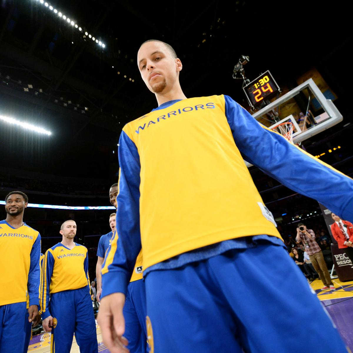 Warriors' Steph Curry Records His 4th Triple-Double Of
