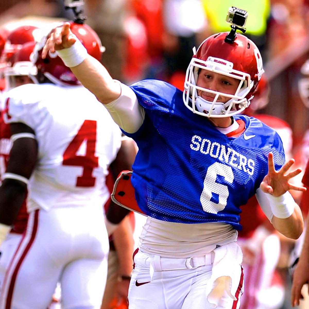 Baker Mayfield Dominates Oklahoma Spring Game, Is He ...
