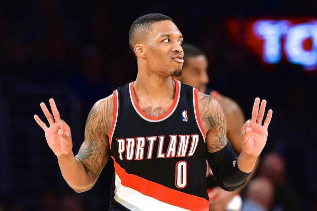 Trail Blazers Damian Lillard Signs A Reportedly Huge Extension With