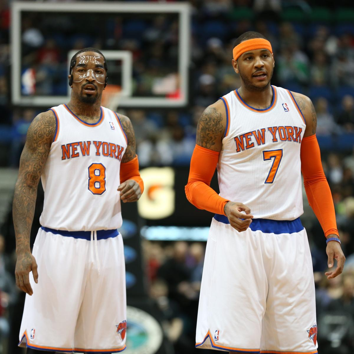 JR Smith Believes Melo Will Re-Sign with Knicks | Bleacher