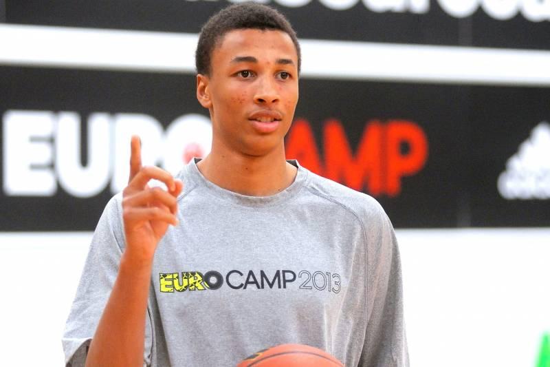 3ba798bbe2cf NBA Draft Prospect Dante Exum Signs Endorsement Deal with Adidas ...