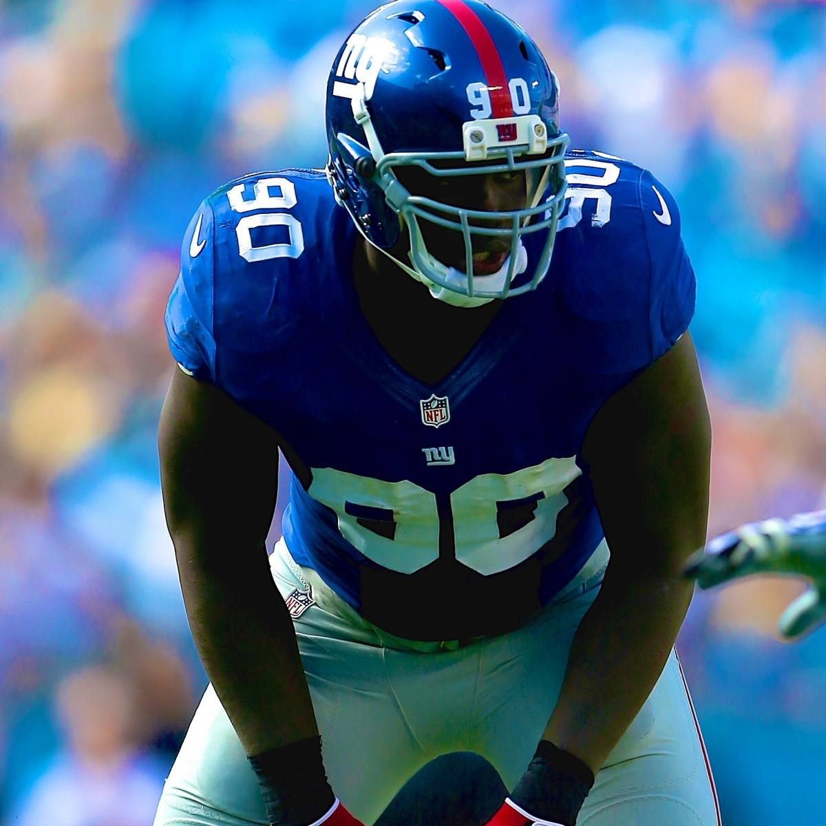 Jason Pierre Paul Pictures: Can Healthy, Lighter Jason Pierre-Paul Carry The Giants In