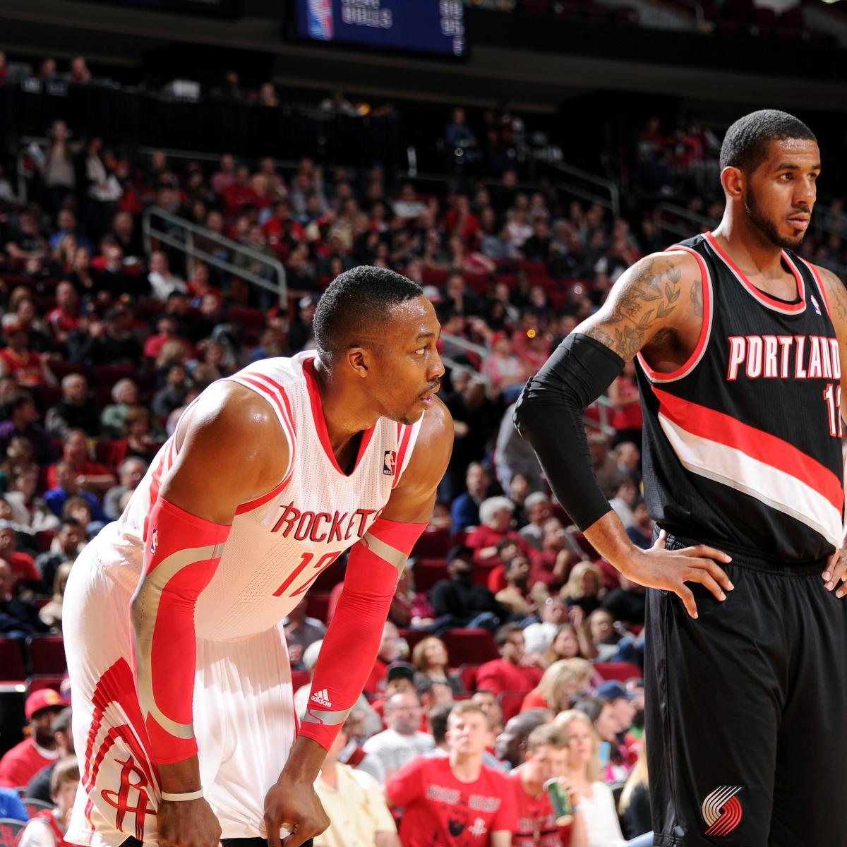 Blazers Home Court Advantage: How Can The Houston Rockets Slow LaMarcus Aldridge And