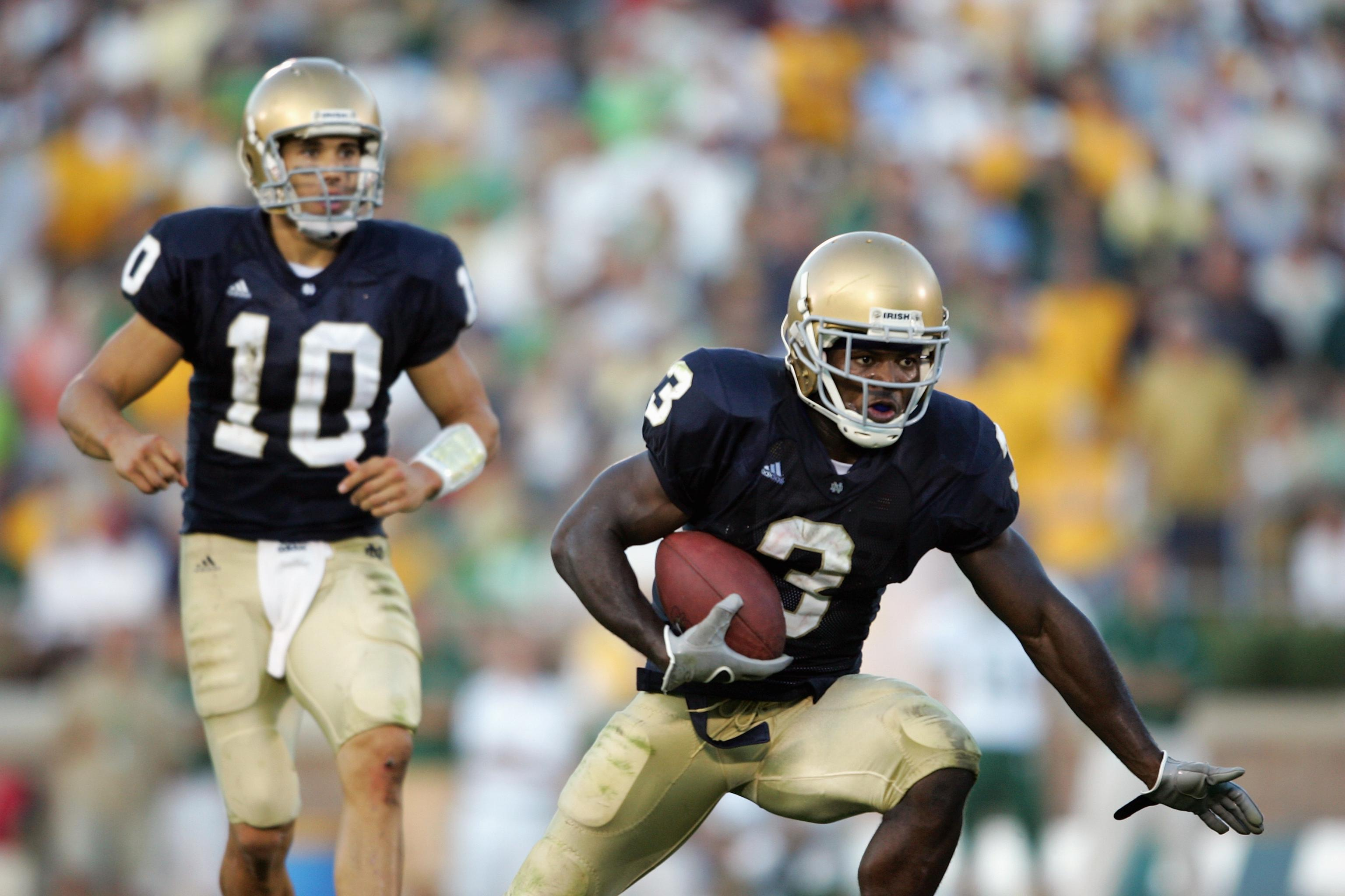 Notre Dame Football Comparing The Irish Offense To Charlie Weis Best Offense Bleacher Report Latest News Videos And Highlights