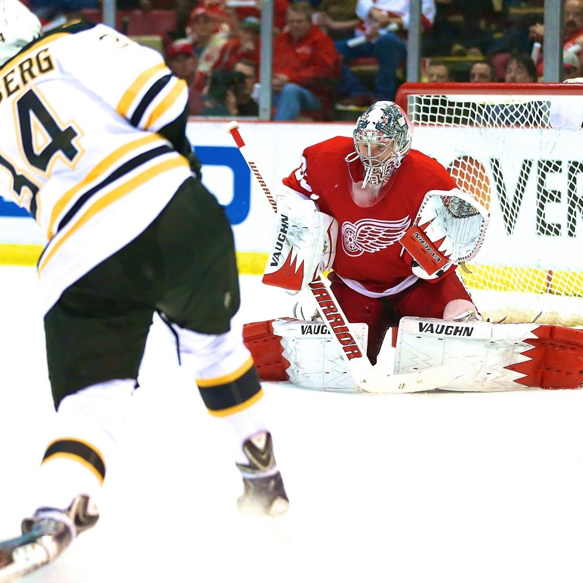 Boston Bruins Vs. Detroit Red Wings Game 4: Live Score And
