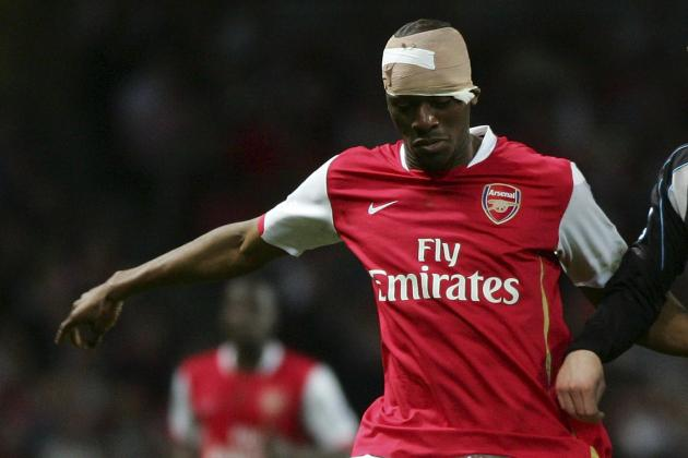abou diaby is probably the most injury prone footballer ever