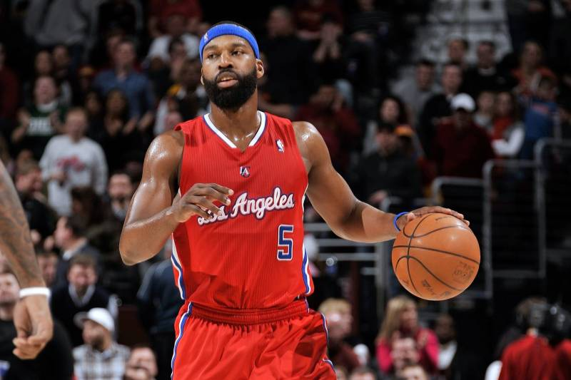 The 41-year old son of father (?) and mother(?) Baron Davis in 2020 photo. Baron Davis earned a 13.9 million dollar salary - leaving the net worth at million in 2020