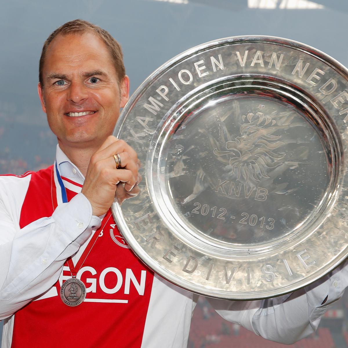 Tottenham Deny Approaching Ajax For Frank De Boer