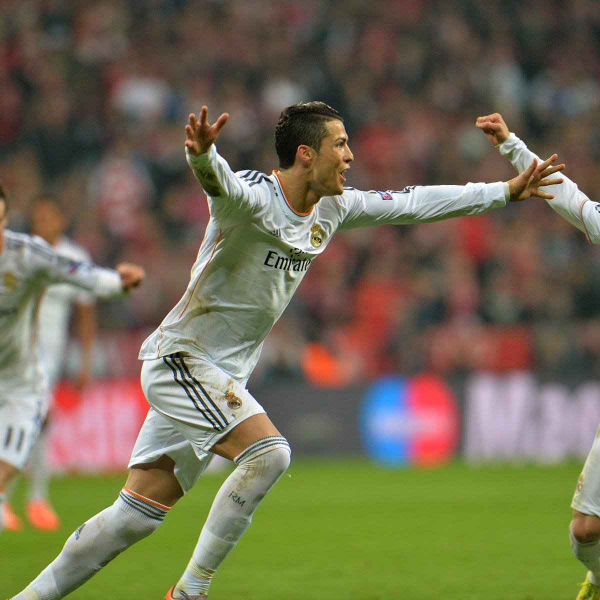 Cristiano Ronaldo S 4 Goals Lead Real Madrid To Win Vs: Cristiano Ronaldo Free-Kick Completes Real Madrid