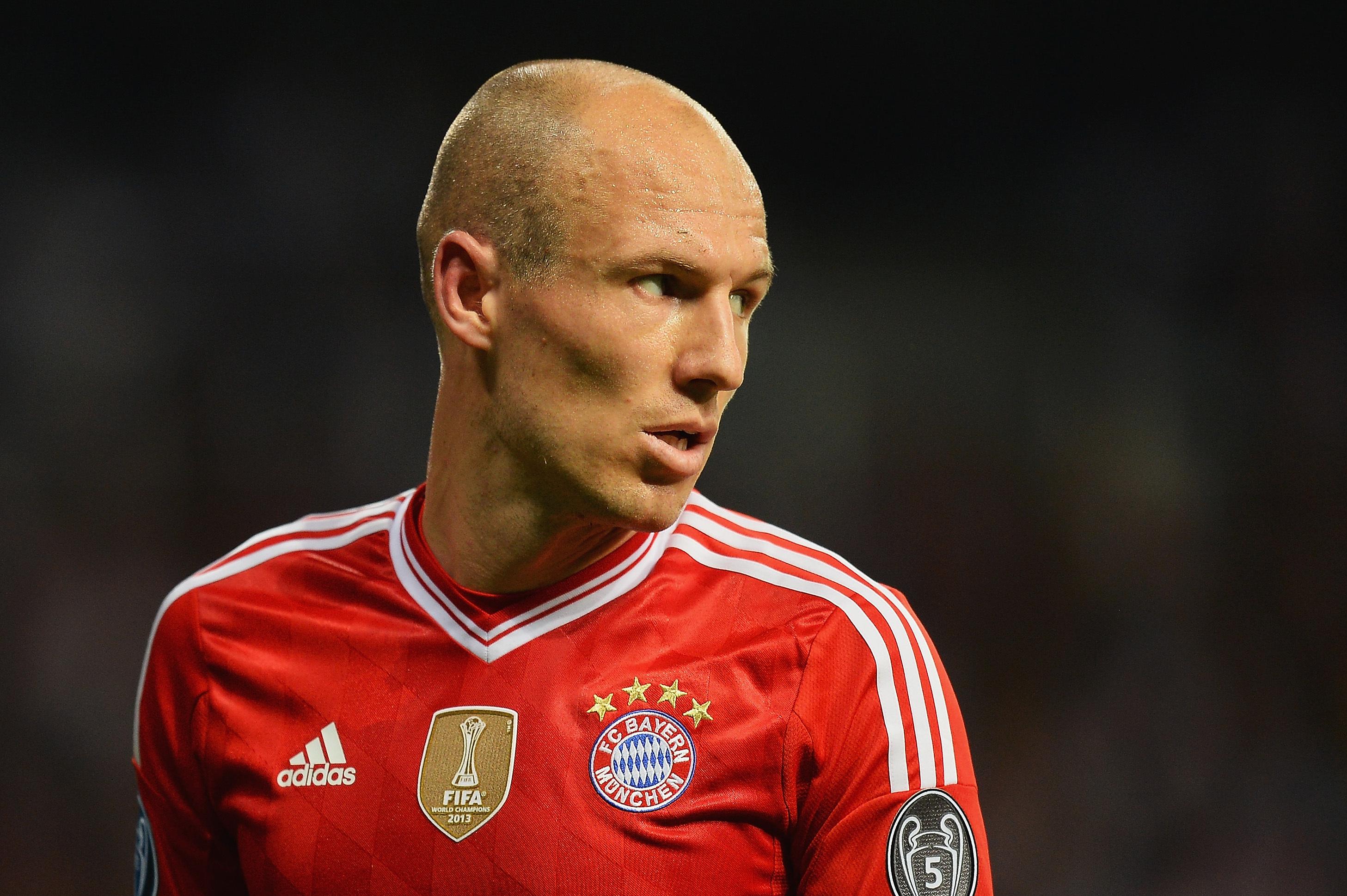 the latest 284b7 ce94b Arjen Robben Slams Chelsea and Atletico, Hopes Real Madrid ...