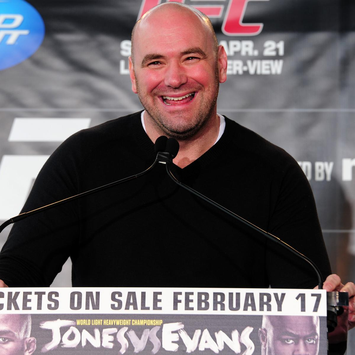 UFC Files $32 Million Lawsuit Against New York Internet
