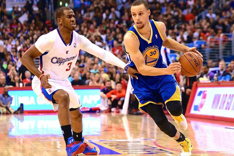 Image result for Golden State Warriors vs Los Angeles Clippers