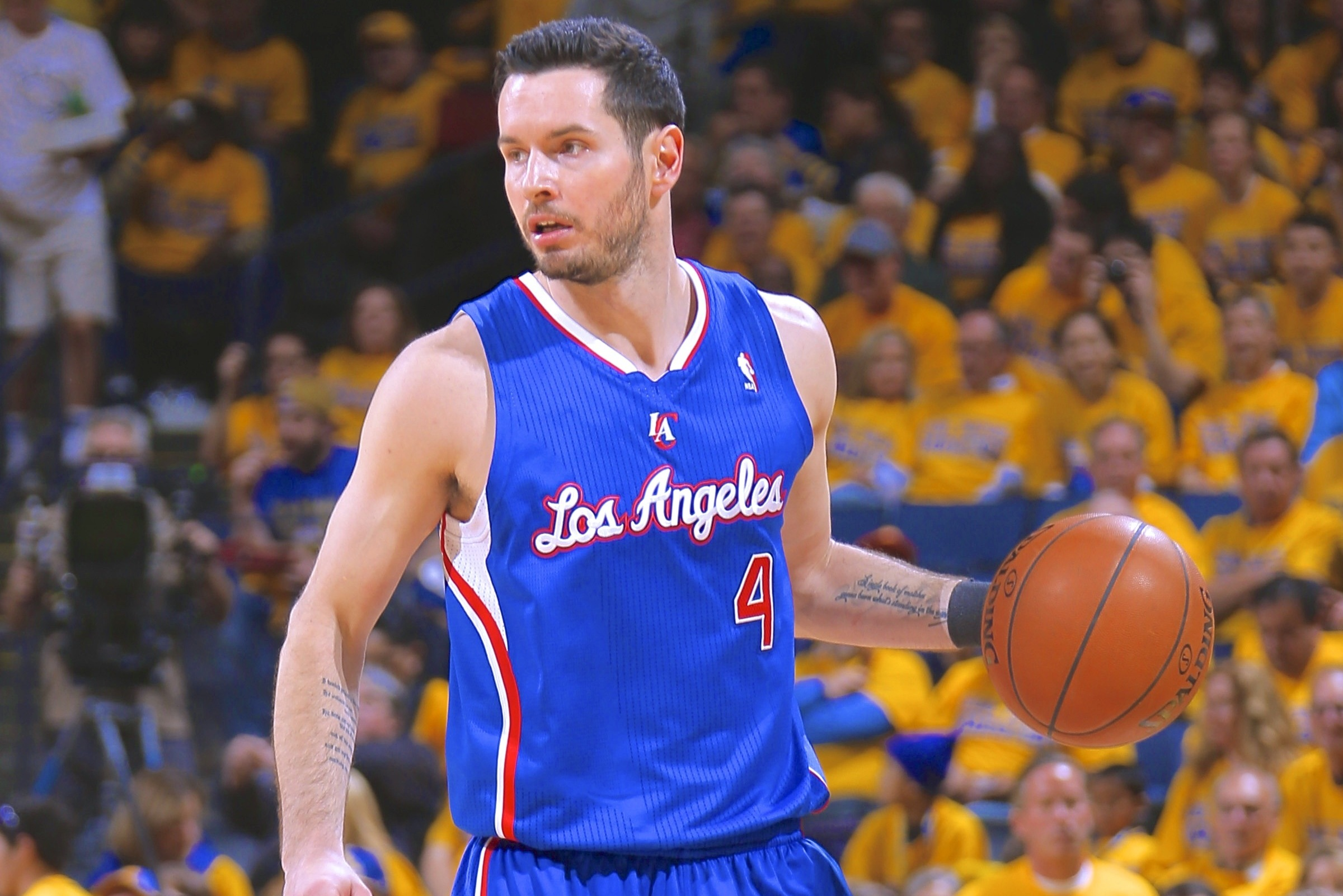 best value cee75 ffc5e Report: Donald Sterling's Racism Almost Halted J.J. Redick ...