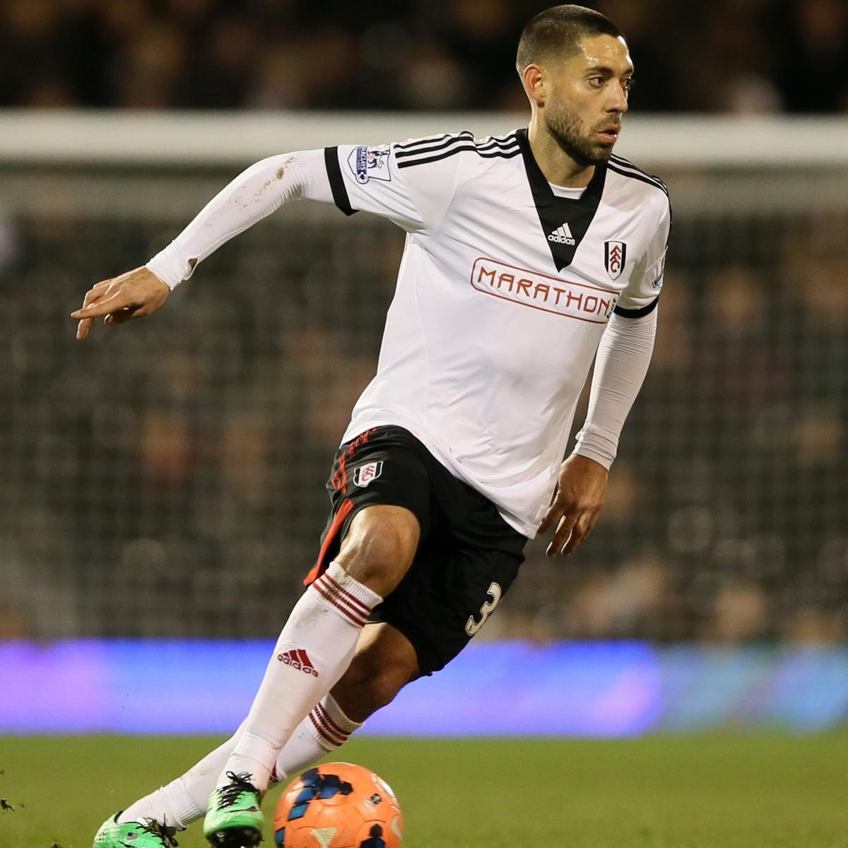 Fulham's Clint Dempsey handed relegation battle goal by ... |Clint Dempsey Hair