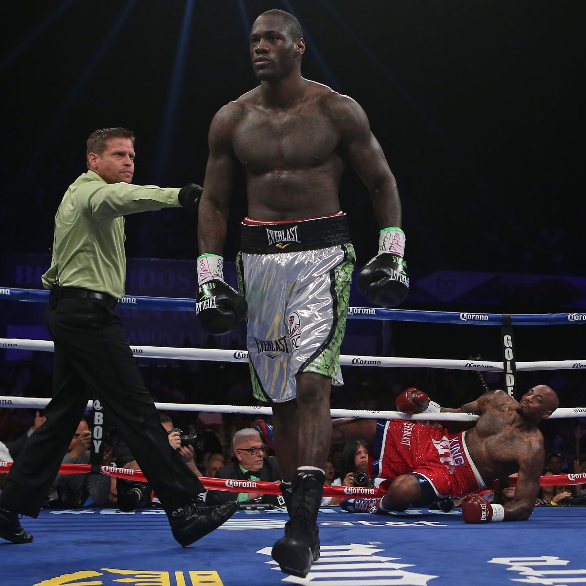Heavyweight Boxer Deontay Wilder Serves Up Internet Troll