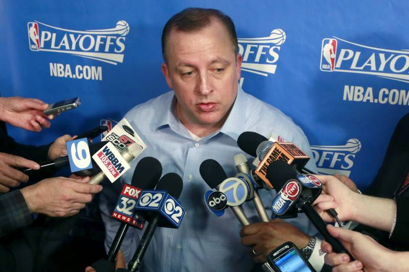 Chicago Bulls Must Silence Speculation on Tom Thibodeau's
