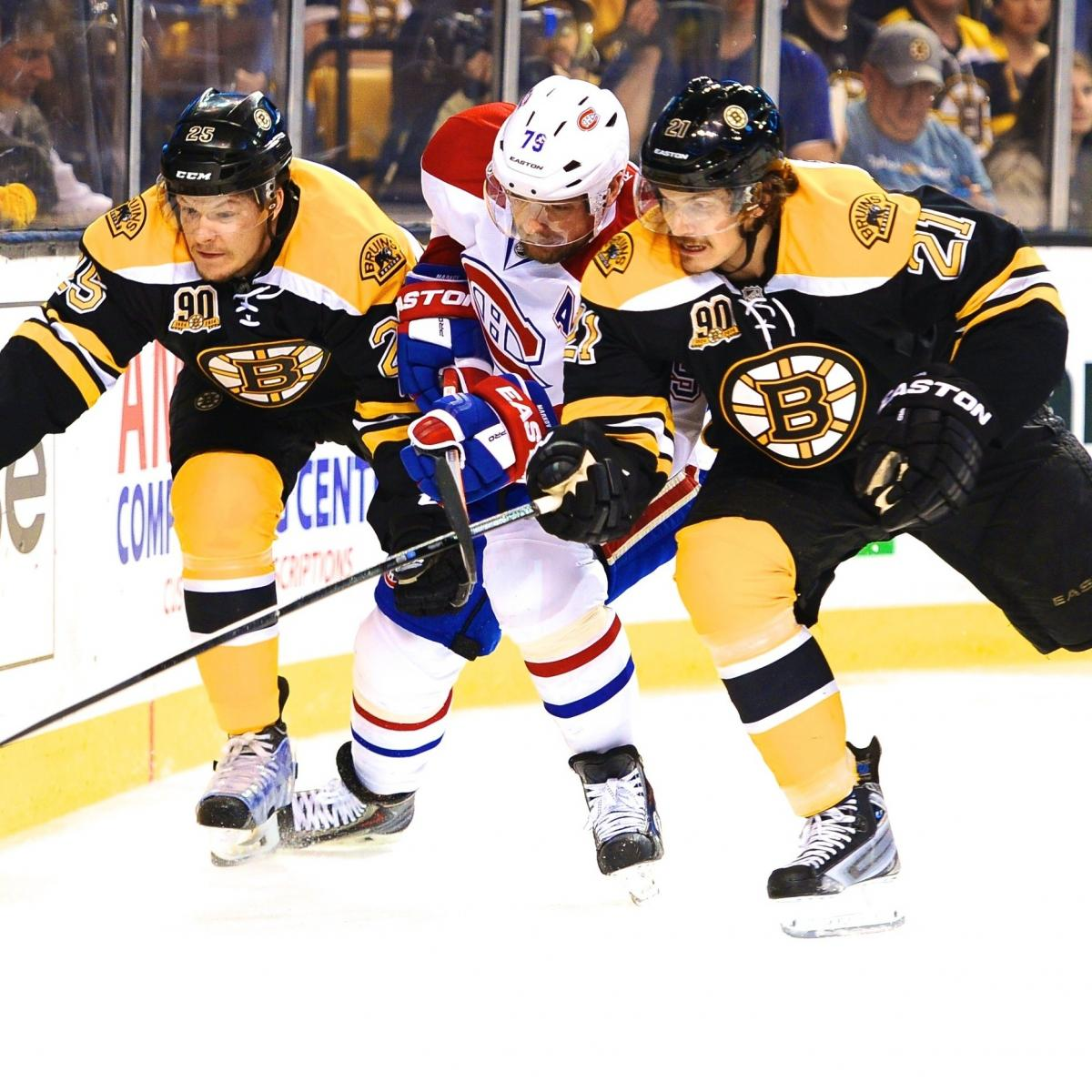 Montreal Canadiens Vs. Boston Bruins Game 5: Live Score