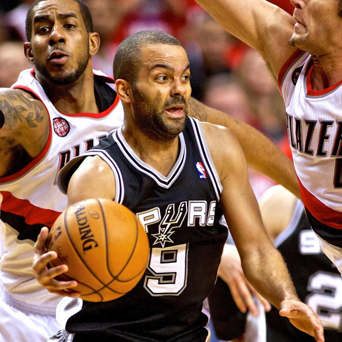 Portland Blazers Live Score: San Antonio Spurs Vs. Portland Trail Blazers: Live Score