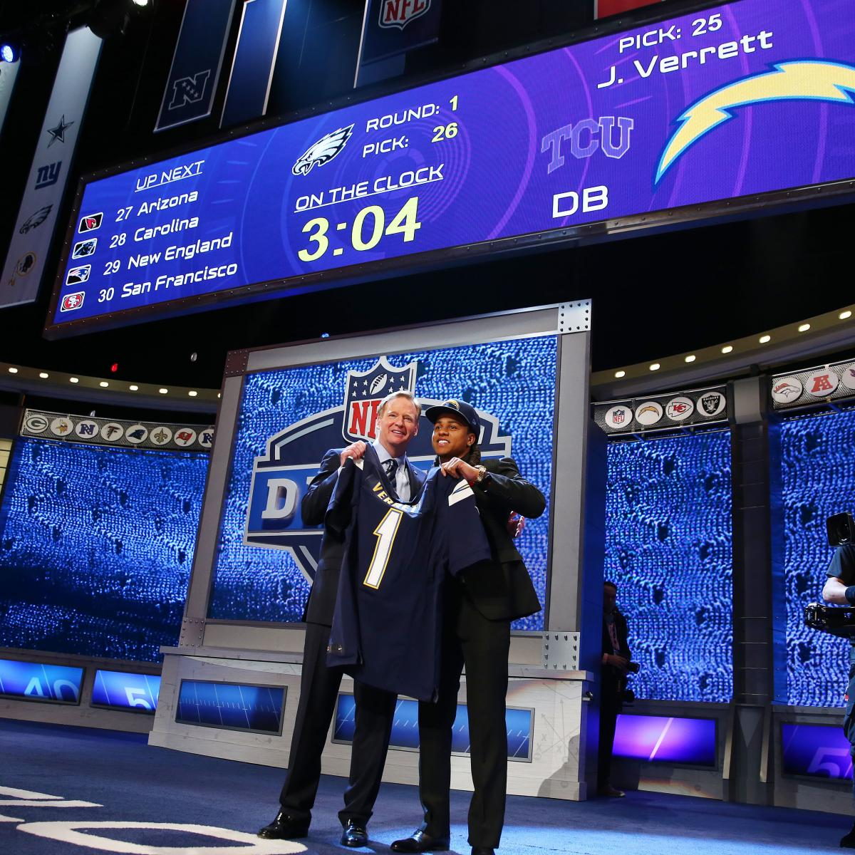 San Diego Chargers First Round Draft Picks: San Diego Chargers: Complete 2014 NFL Draft Wrap-Up And