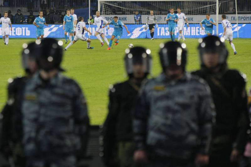 Zenit St Petersburg Sanctioned with 3-0 Loss, Fined for Abandoned