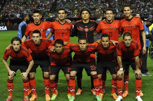 Mexico 2014 FIFA World Cup Squad  Player-by-Player Guide  9737d2943