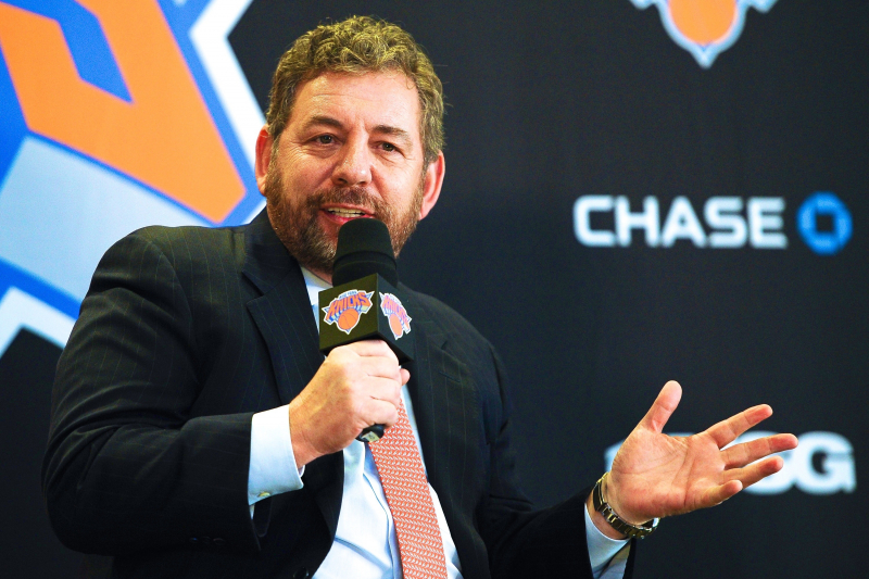 Report: James Dolan 'Sabotaged' Phil Jackson Hiring Steve Kerr
