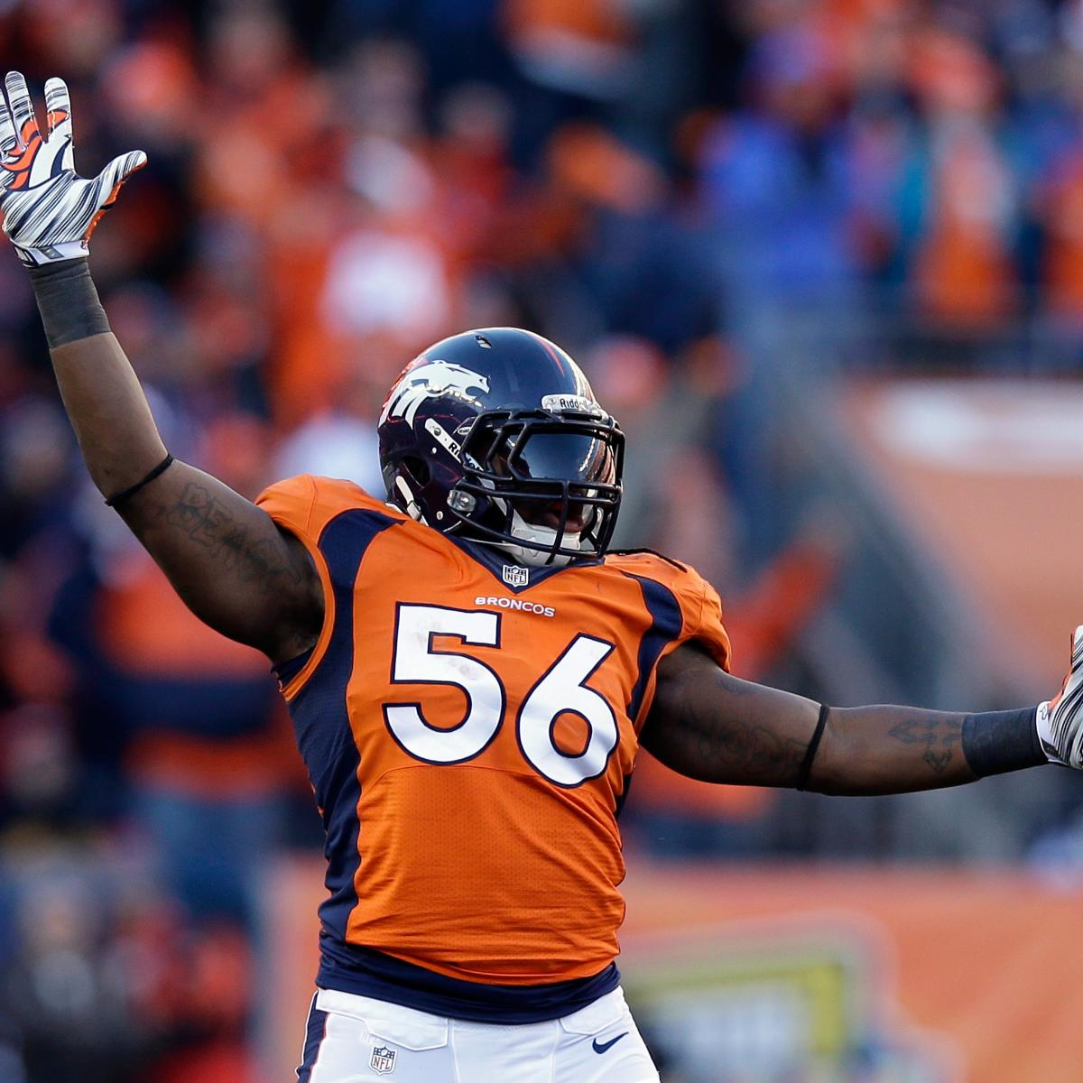 Denver Broncos Veterans Who Have Been Put On Notice This