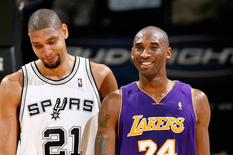 ab6125faabf SAN ANTONIO - JANUARY 12  Tim Duncan  21 of the San Antonio Spurs and
