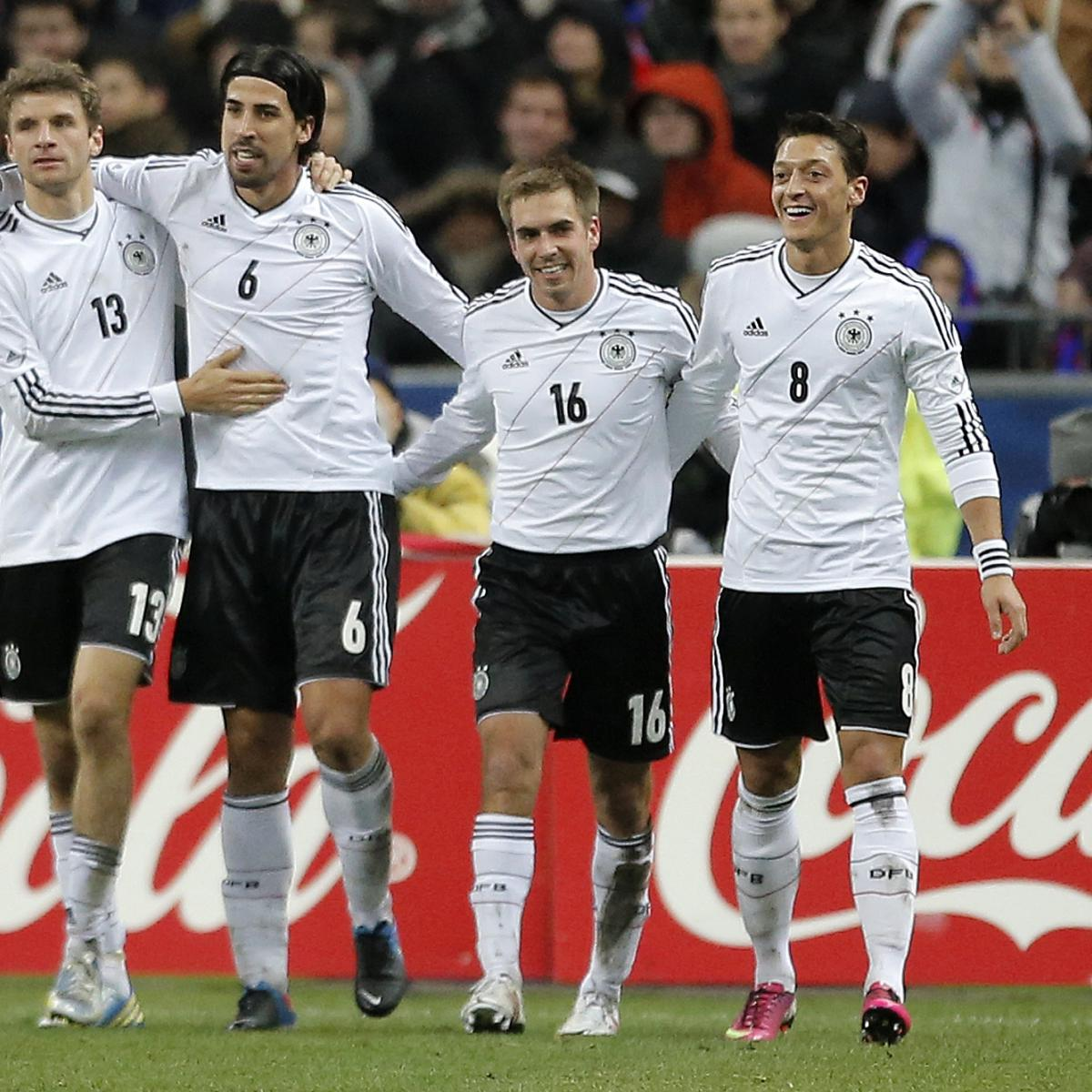 Germany World Cup Roster 2014 Starting Xi And Squad Analysis Bleacher Report Latest News Videos And Highlights