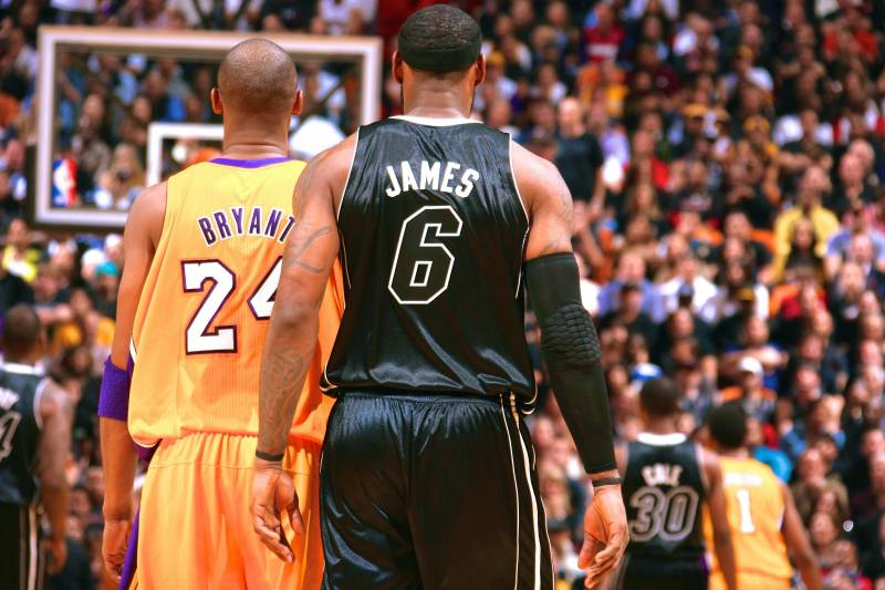 1de3d708d9ed Would 3rd Ring Put LeBron James Above Kobe Bryant Among NBA s All ...