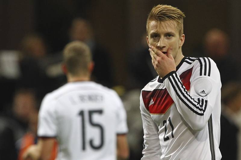 newest collection 62299 0ef0f Marco Reus Will Miss World Cup Due to Injury | Bleacher ...
