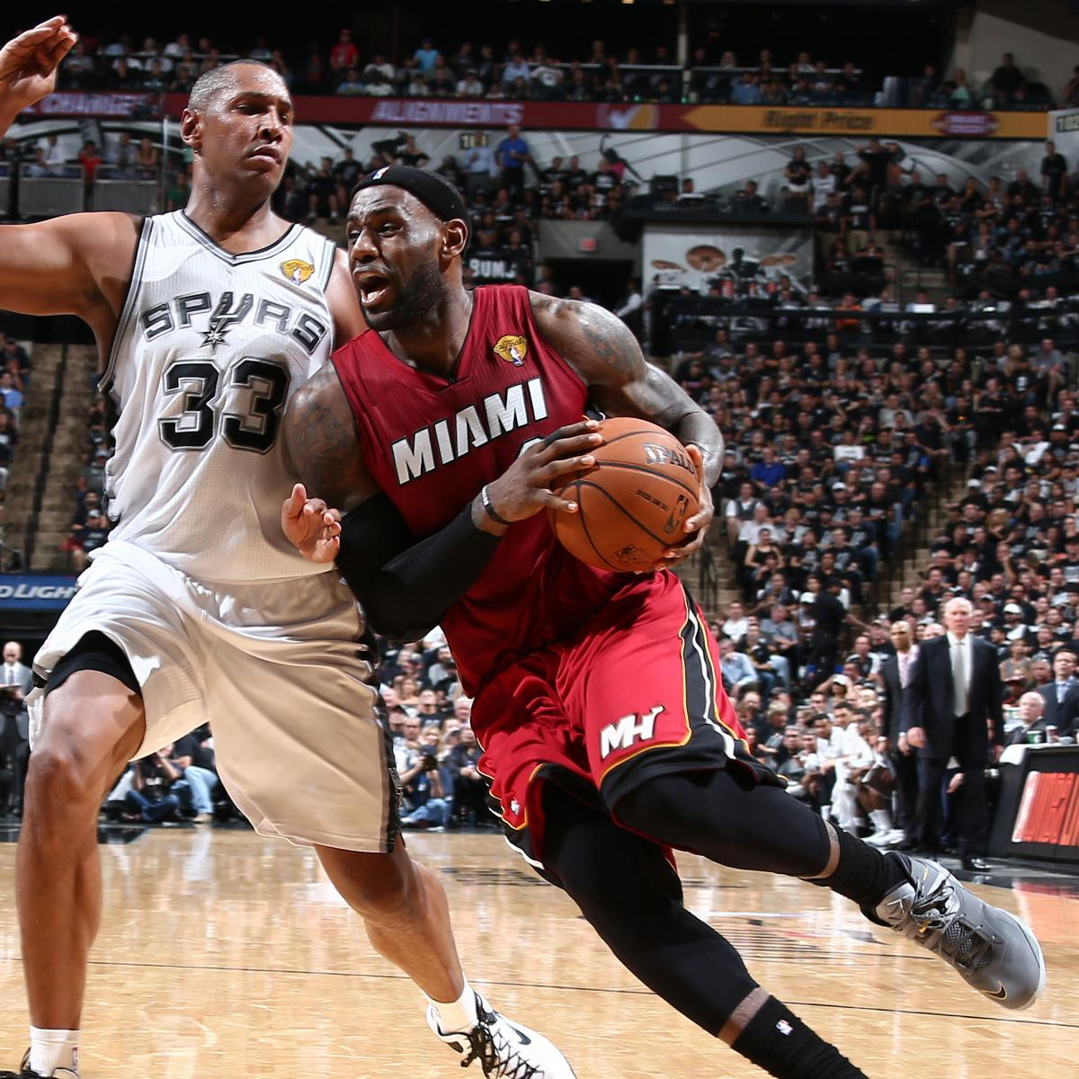 NBA Playoffs 2014: TV Schedule, Vegas Odds And Picks For