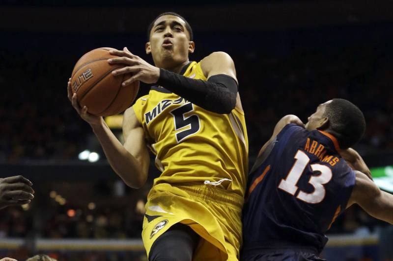 purchase cheap 31994 b0c7b Jordan Clarkson: Scouting Profile for Lakers' Draft Day ...