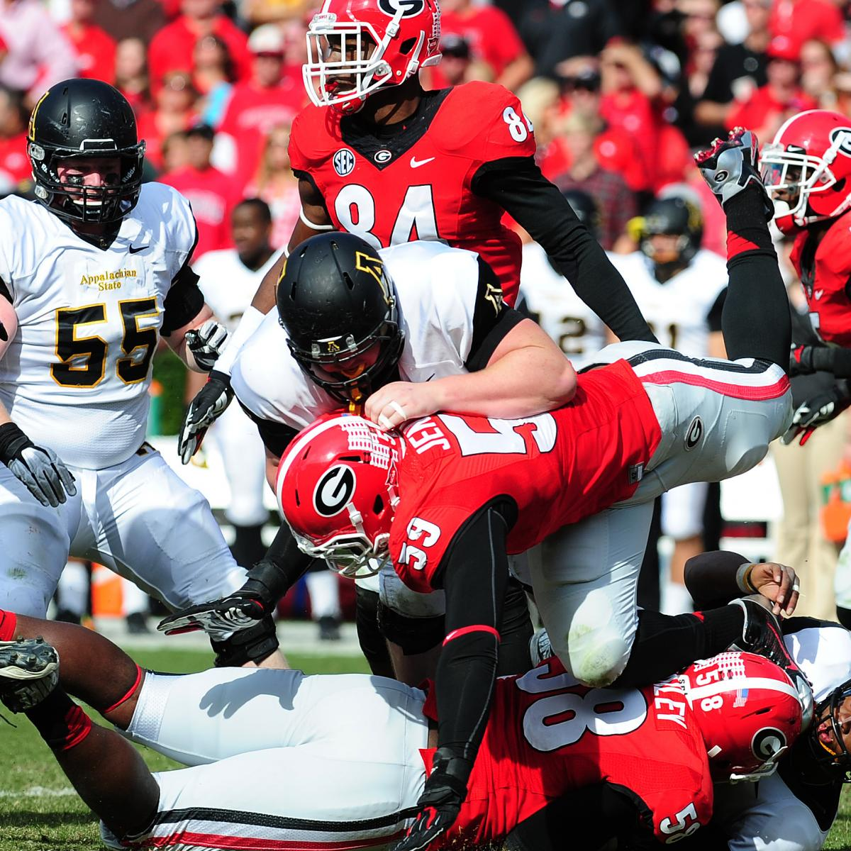 Georgia Bulldogs college football news scores stats and standings provided by CBSSportscom