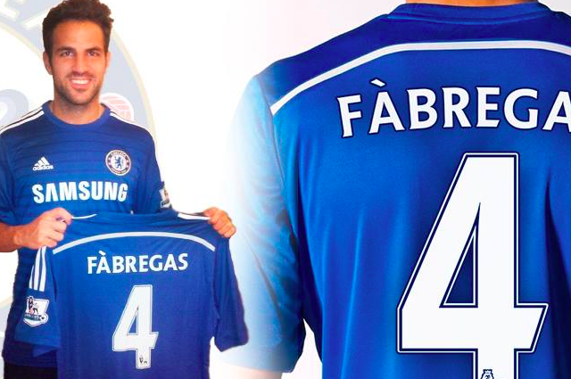 meet a5de7 634b1 Cesc Fabregas Poses in Chelsea Kit After Deal Agreed with ...