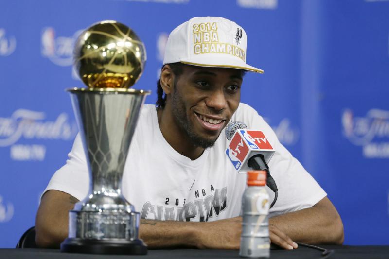 Breaking Down How NBA Finals MVP Kawhi Leonard Shined for San Antonio Spurs