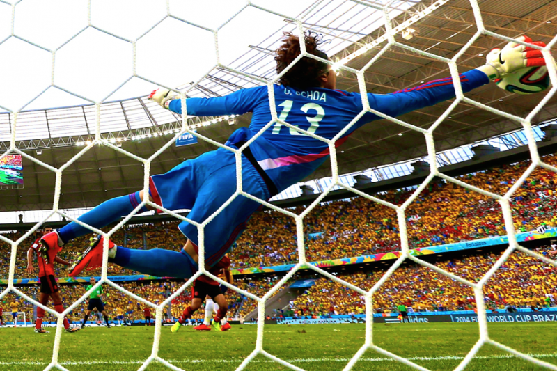 436a0508a Mexico Goalkeeper Guillermo Ochoa Denies Brazil with Career-Defining  Performance