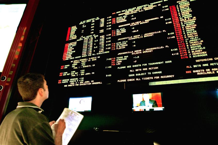 football betting odds las vegas