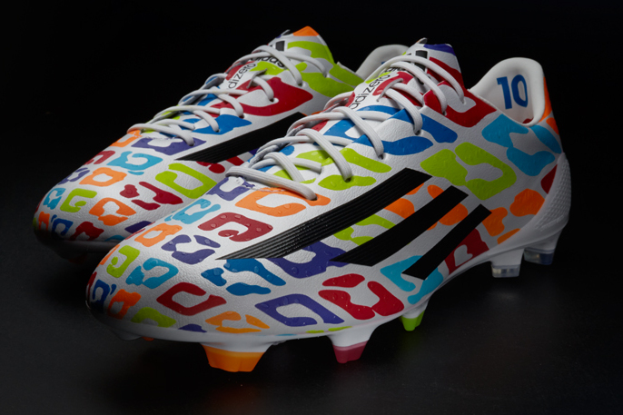 083e3e9d5 Adidas Unveil Birthday Boots for Lionel Messi to Wear in World Cup Training
