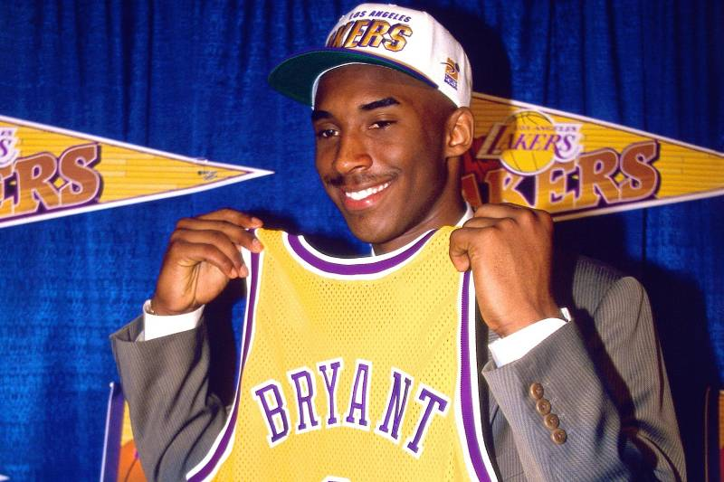 44fb499ada8 Kobe Bryant's Predraft Workout Has Become Stuff of Lakers, and NBA ...