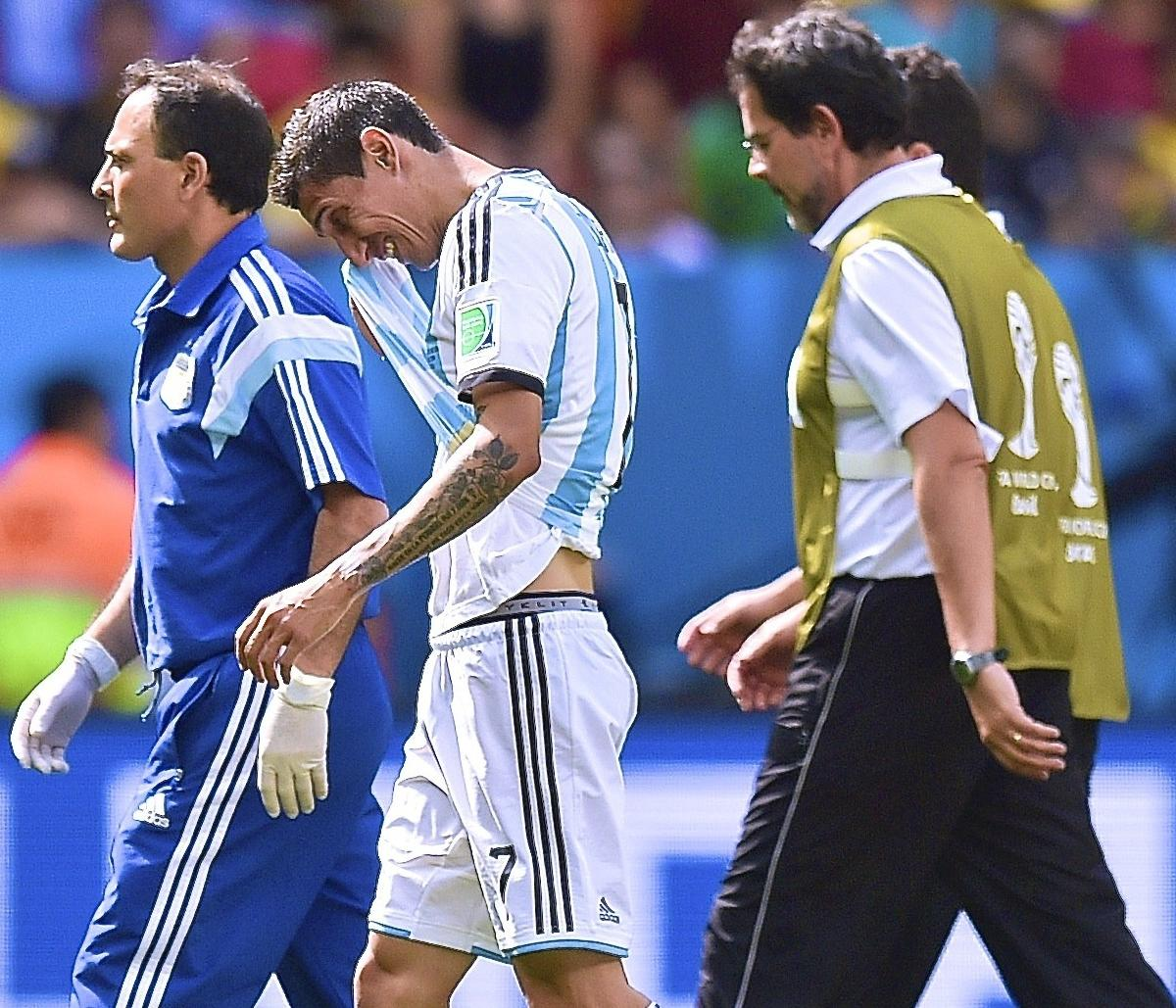 Angel Di Maria Injury: Updates On Argentina Star's Thigh