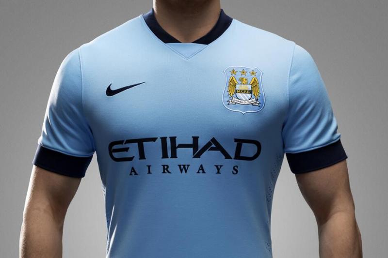 buy online 50e8e fdd67 Manchester City Reveal New Nike Home Kit for 2014-15 Season ...