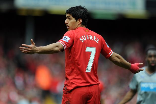 best service b7094 fa99e Who Could Take Iconic Liverpool No. 7 Shirt After Luis ...