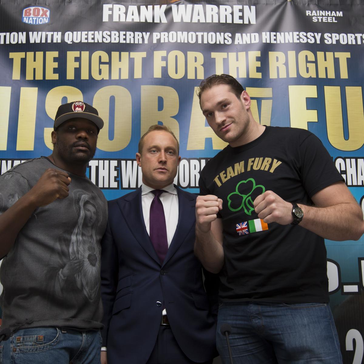 Tyson Fury Vs. Dereck Chisora: Biggest Takeaways From Pre