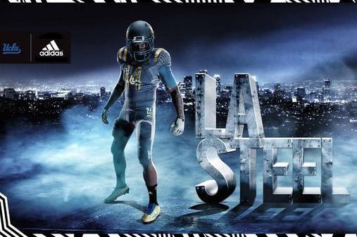 a4a56f7f5 Adidas and UCLA Unveil New 'LA Steel' Uniforms for 2014-15 Season ...