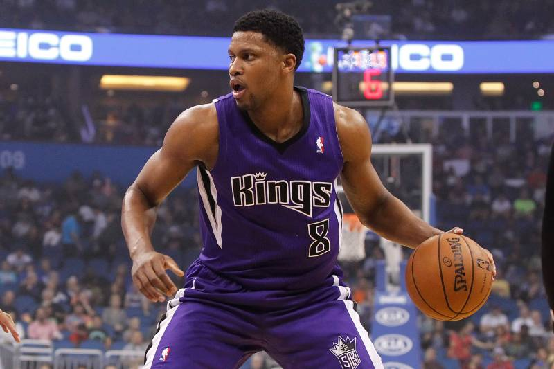 Rudy Gay Talks DeMarcus Cousins, Kings' Offseason and All-Time
