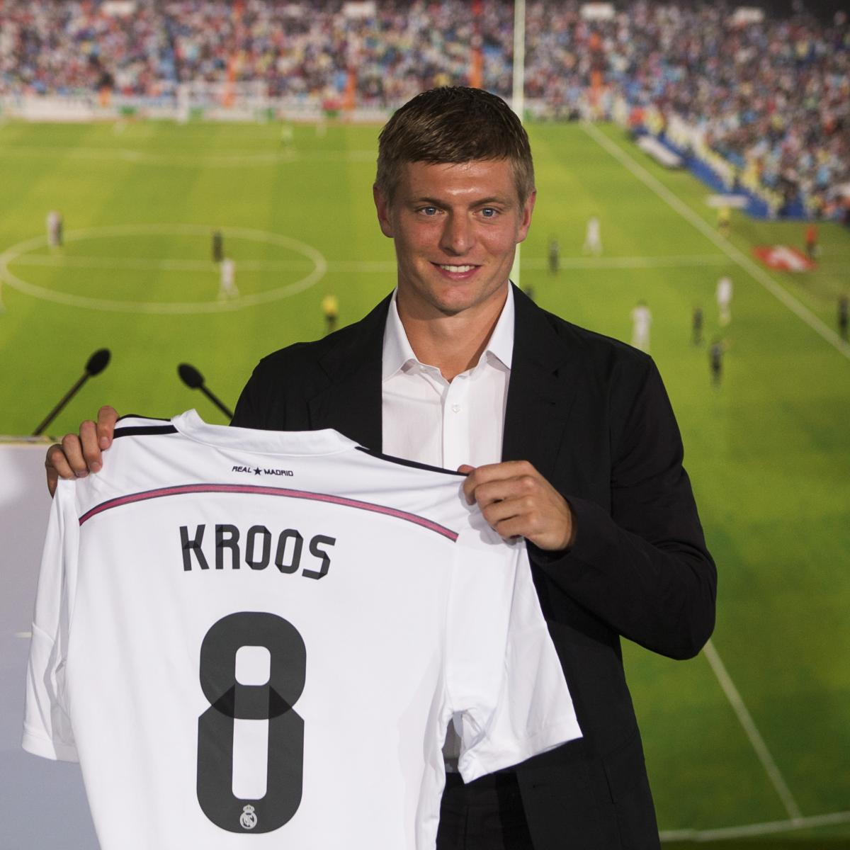 Real Madrid Transfer News  Toni Kroos Faces Tough Battle for Midfield Spot   5aef246d0
