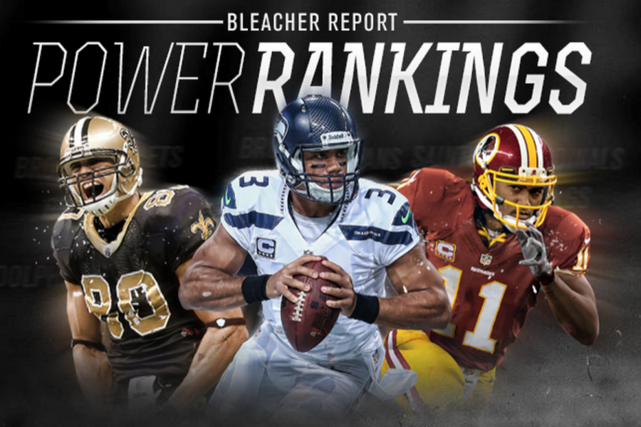 NFL Power Rankings Checking In At Start Of Training Camps