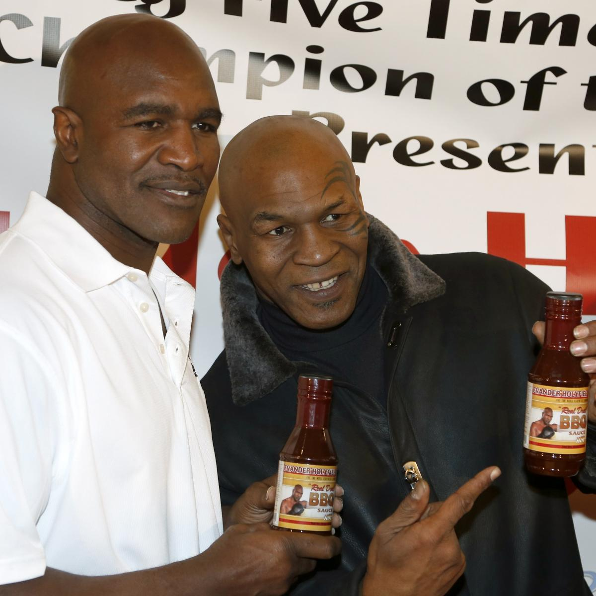 Mike Tyson To Induct Evander Holyfield Into Nevada Boxing